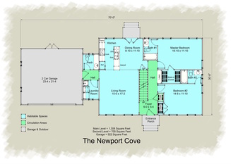 Cape Cod Floor Plan